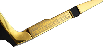 EZE col*18K GP Gold/Black